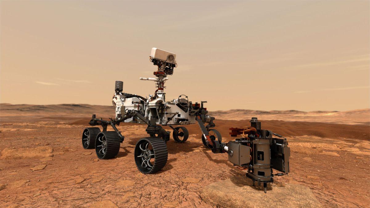 Perseverance en Marte: qué dice el mensaje oculto en el paracaídas del robot espacial de la NASA (y otros secretos de la expedición)