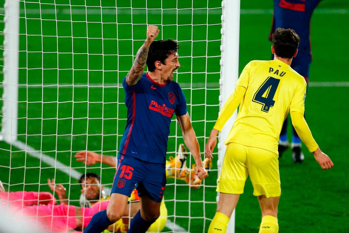 El Atlético de Madrid se volvió a comportar como líder y consiguió ganar antes del derbi