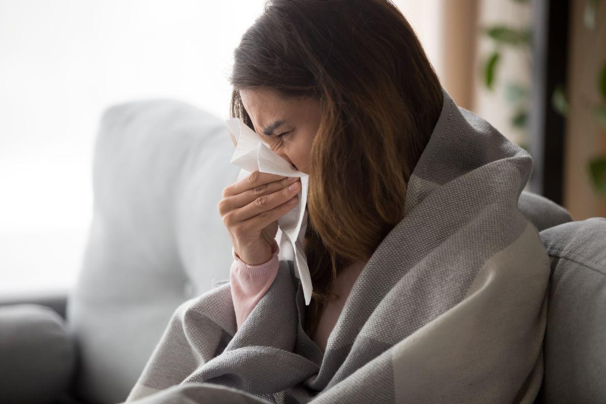 Por qué la gente se resfría a pesar de estar en cuarentena