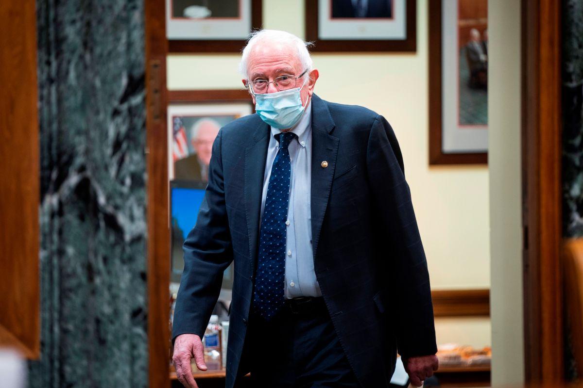 El senador independiente de Vermont, Bernie Sanders.