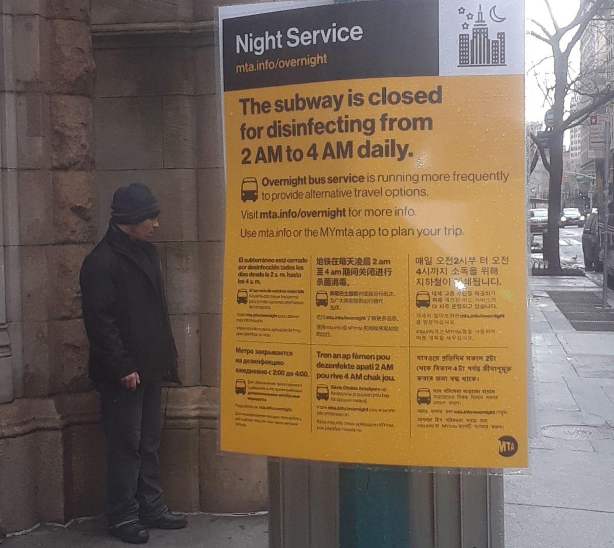 """""""No enviaría a un niño al Metro indigente de Nueva York"""": gobernador Cuomo reconoce inseguridad y pide más presencia policial"""