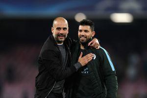 "Guardiola: ""Maradona conquistó Italia, Messi a España y Agüero a Inglaterra"""