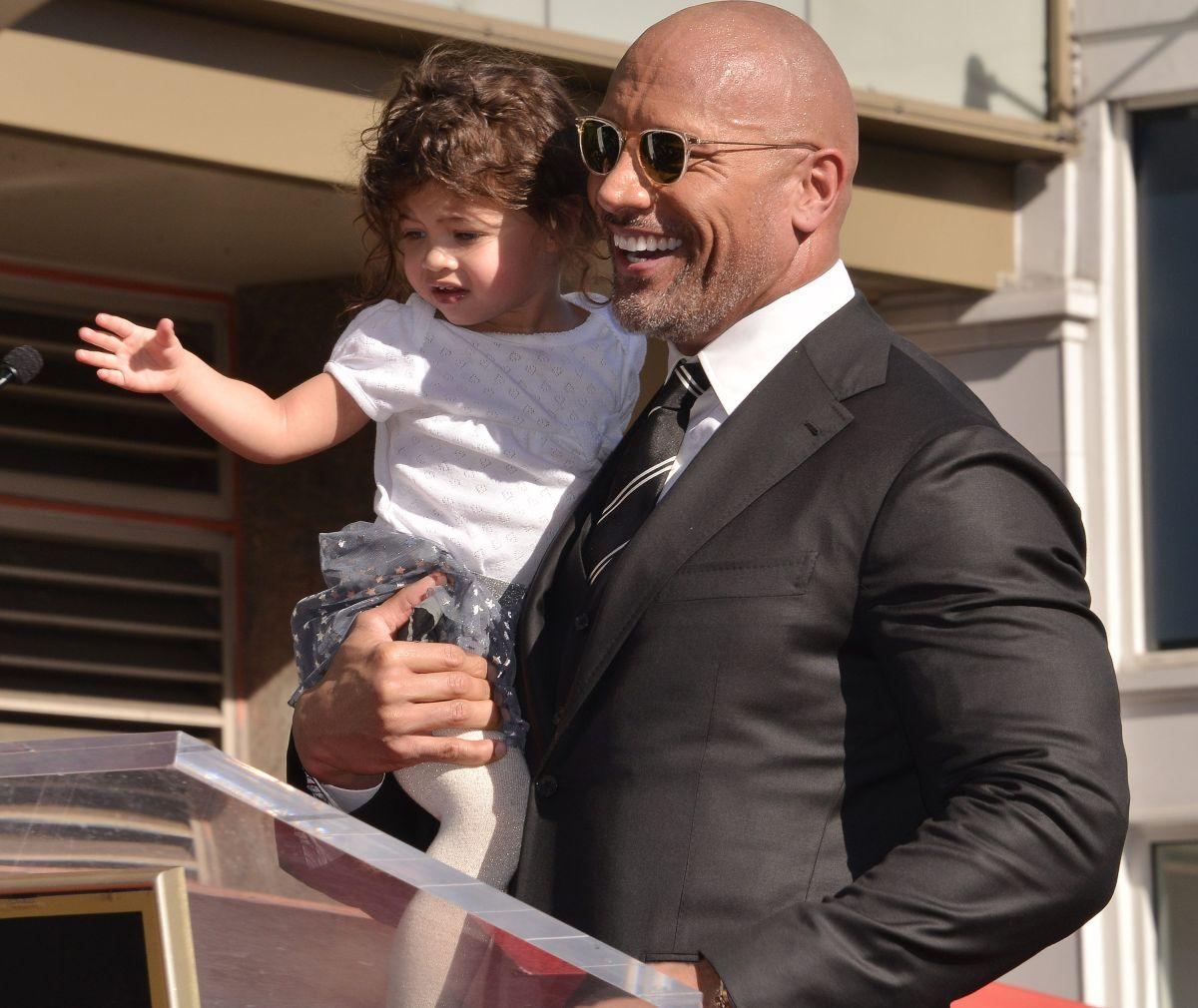 Dwayne Johnson ya no es una 'roca' gracias a la paternidad