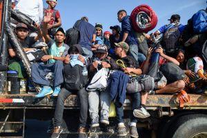 Disuelven en Honduras caravana de migrantes que salió rumbo a EE.UU.