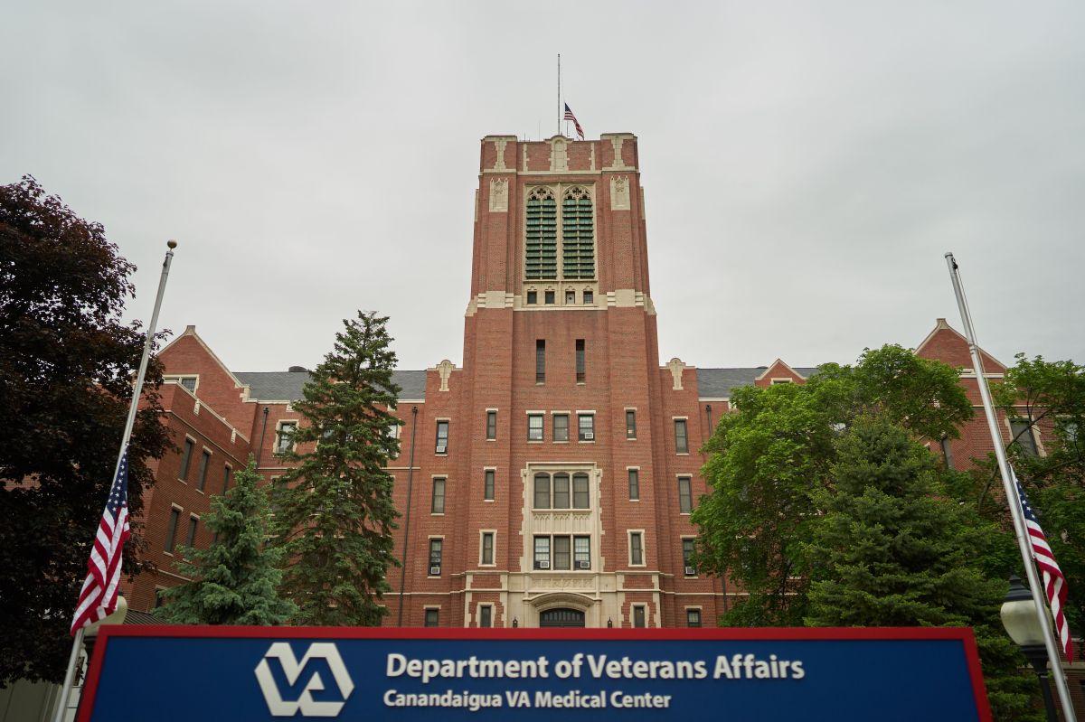 Un centro médico de  la Administración de Veteranos en Canandaigua, New York.
