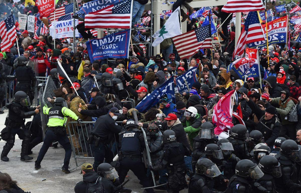 Tras un mitin liderado por Trump, sus seguidores invadieron el Capitolio.