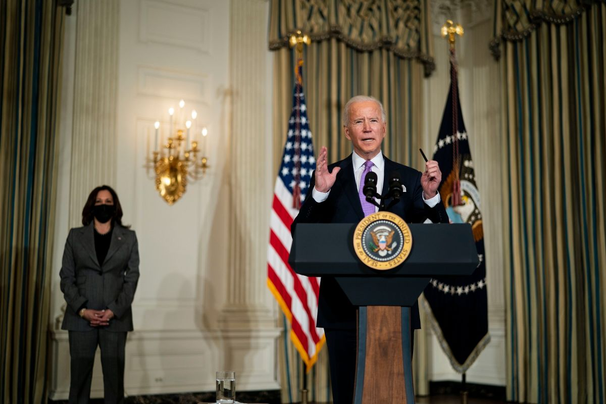 """Biden Administration confirms sending of """"directed"""" stimulus check at events"""