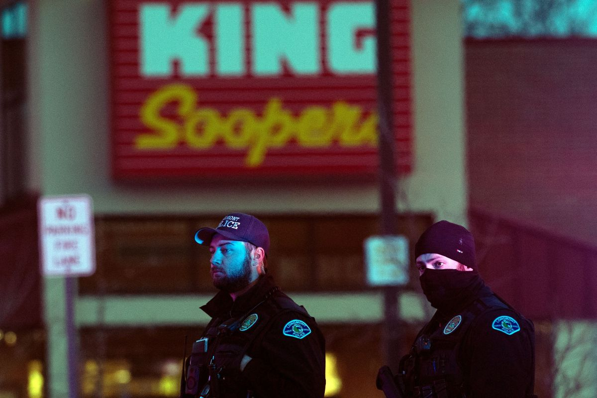 Colorado supermarket shooter in custody after killing 10 people