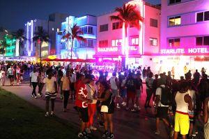 Se acabó la fiesta en Miami: multitudes en playa y bares obligan a imponer toque de queda