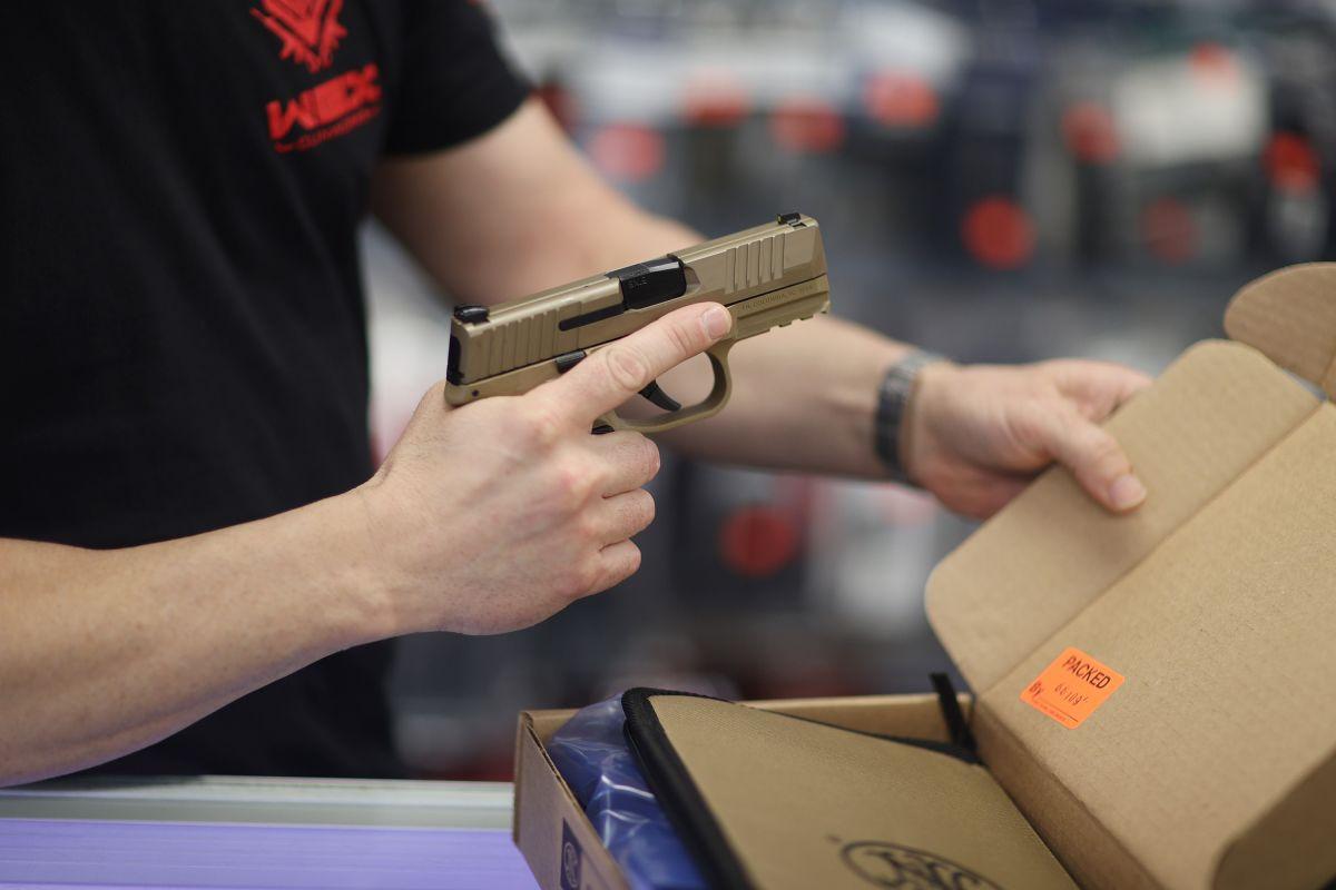 Durante la insurrección del Capitolio en enero de 2020 se registró un nuevo récord en la venta de armas.