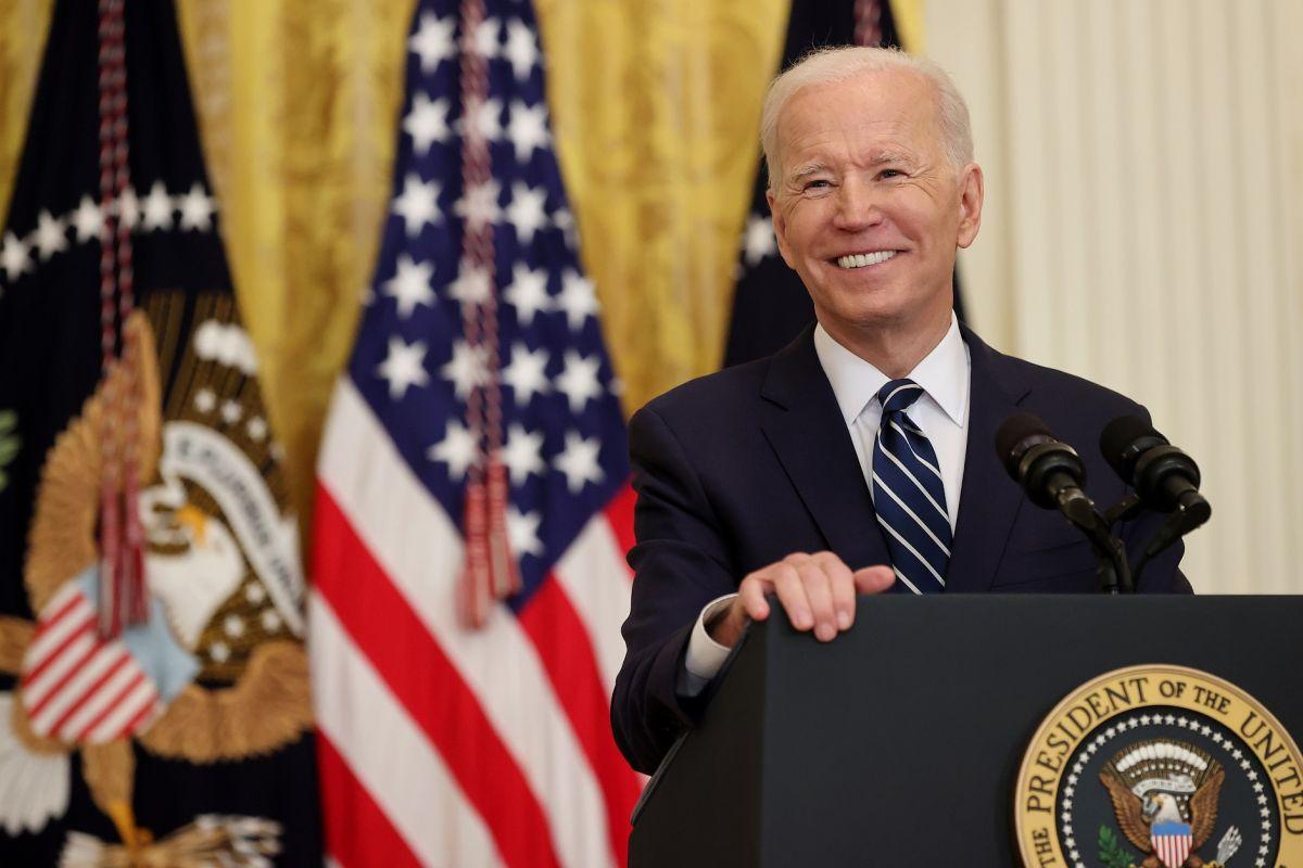 El presidente Biden confirma que buscará la reelección.