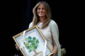 La marca que dejó Melania Trump en la Casa Blanca