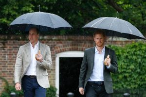 El príncipe William ha hablado con Harry, pero los príncipes no lograron sanar sus heridas