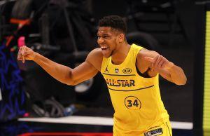 Un Antetokounmpo encendido le da la victoria al Team LeBron en el Juego de Estrellas de la NBA