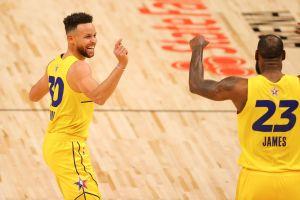 El All Star Game abrió la posibilidad de ver a Curry y LeBron en el mismo equipo nuevamente
