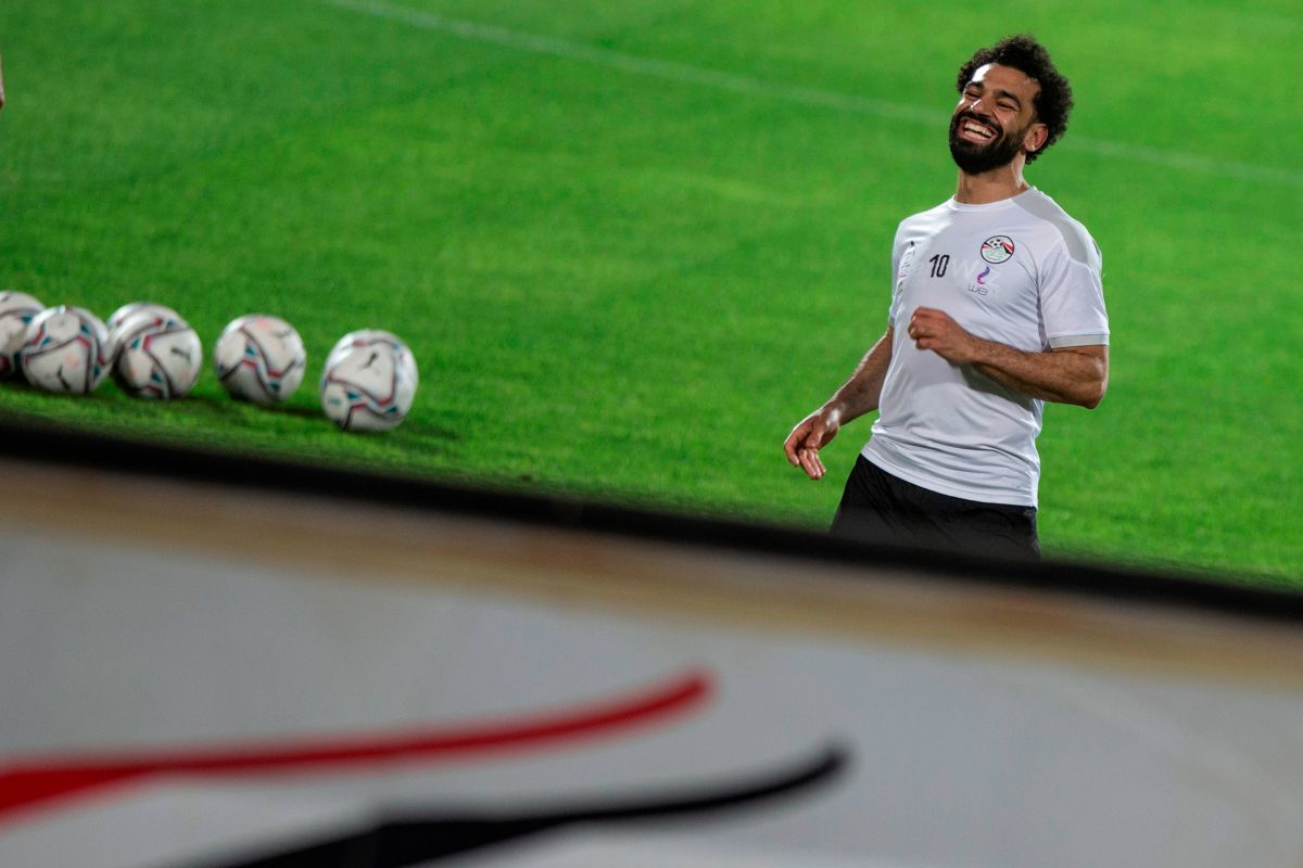 Salah smiled with Egypt and points to Tokyo 2020