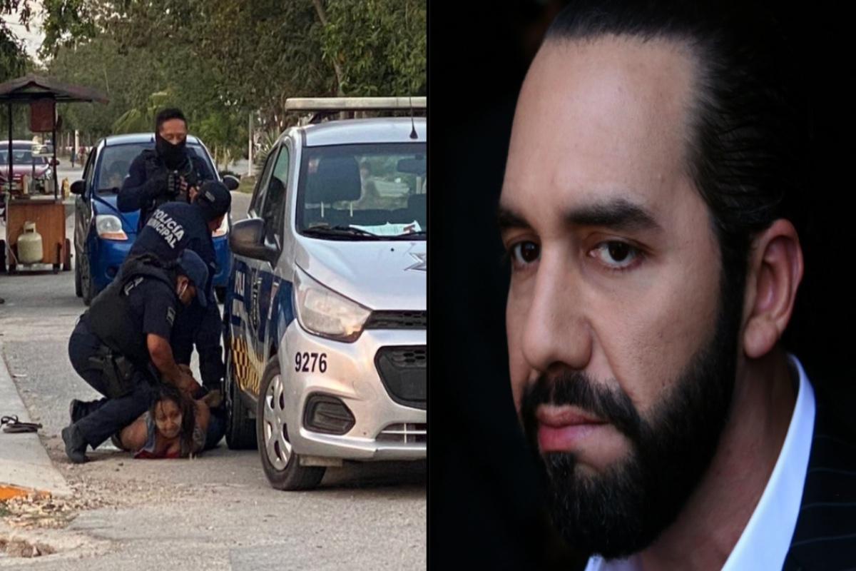 Nayib Bukele promete hacerse cargo de manutención de hijas de salvadoreña muerta al ser sometida por policías