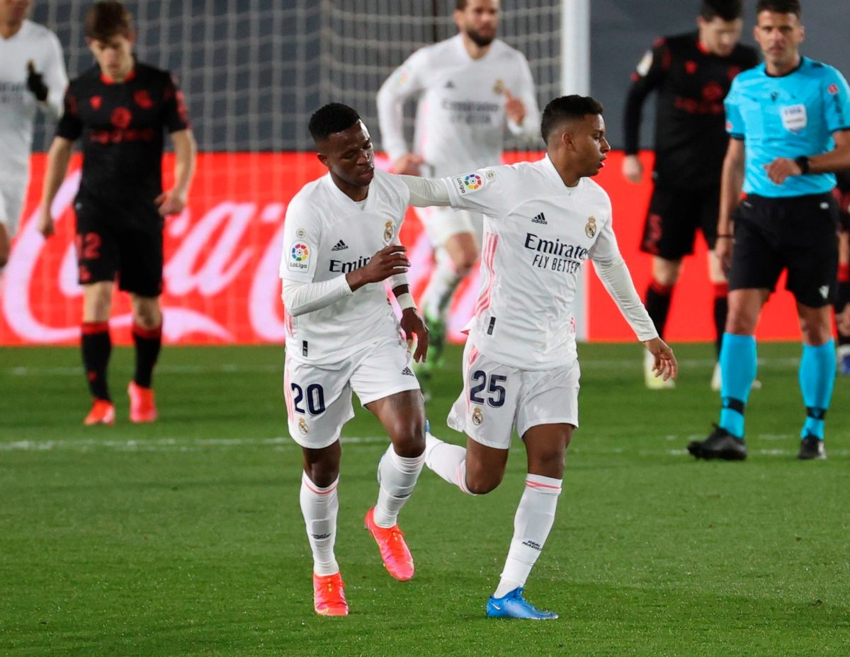 Real Madrid rescata el empate con la Real Sociedad y complica su búsqueda por el liderato
