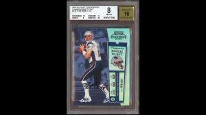 Otro récord para Tom Brady: Su tarjeta de novato es la más costosa de la historia