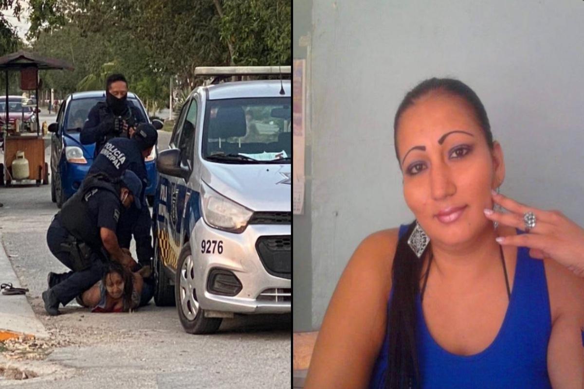 Victoria la mujer que falleció al ser sometida por policías era salvadoreña y deja 2 niñas en la orfandad