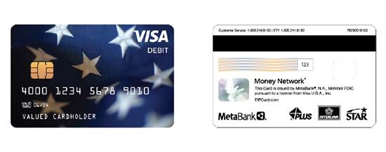 tarjeta de debito prepagada con cheque de estimulo IRS