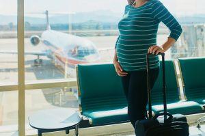 Hasta qué semana puedo viajar en avión si estoy embarazada
