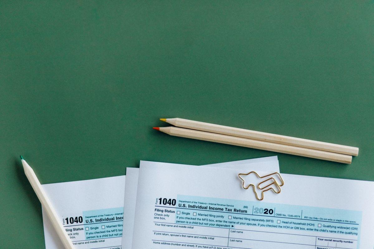 Formulario 1040, es uno de los principales para hacer la declaración de impuestos.