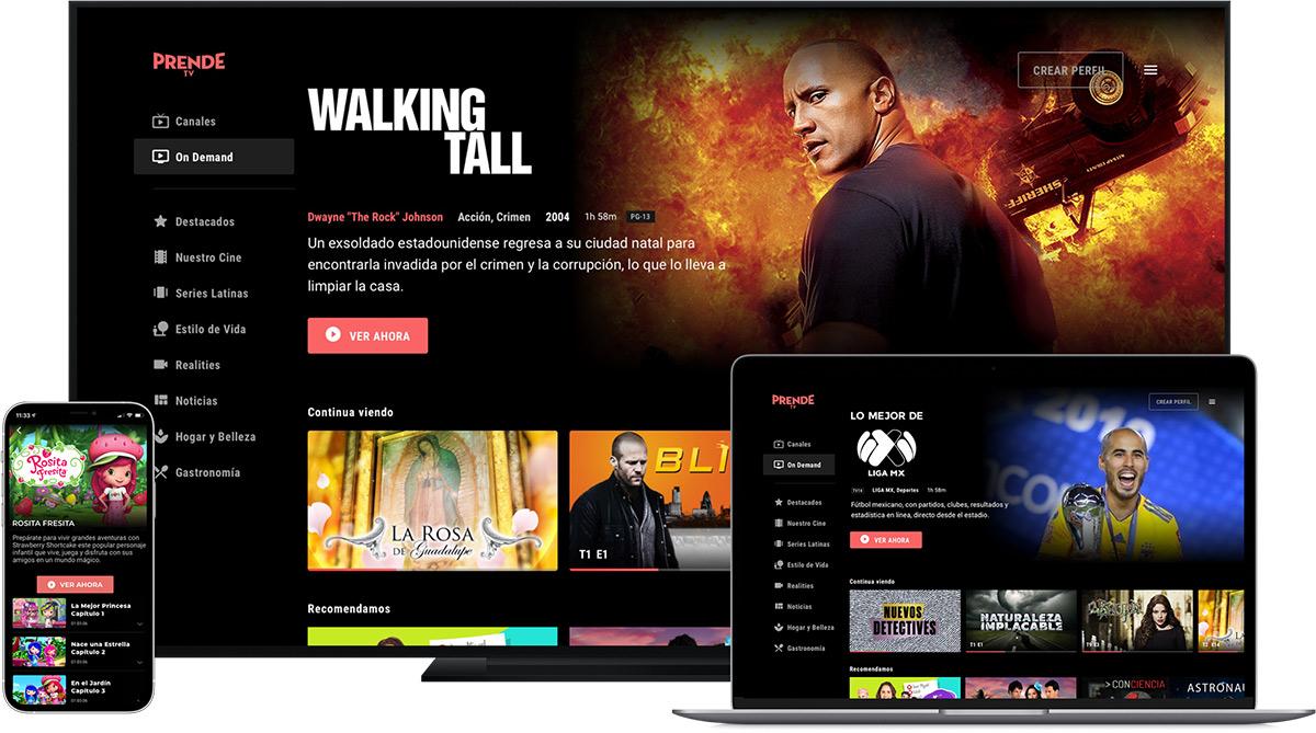 Univision lanza PrendeTV, ¿qué programas tiene el nuevo servicio de streaming?