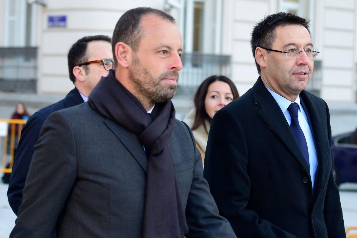 Josep Maria Bartomeu, tercer presidente del FC Barcelona que termina tras las rejas