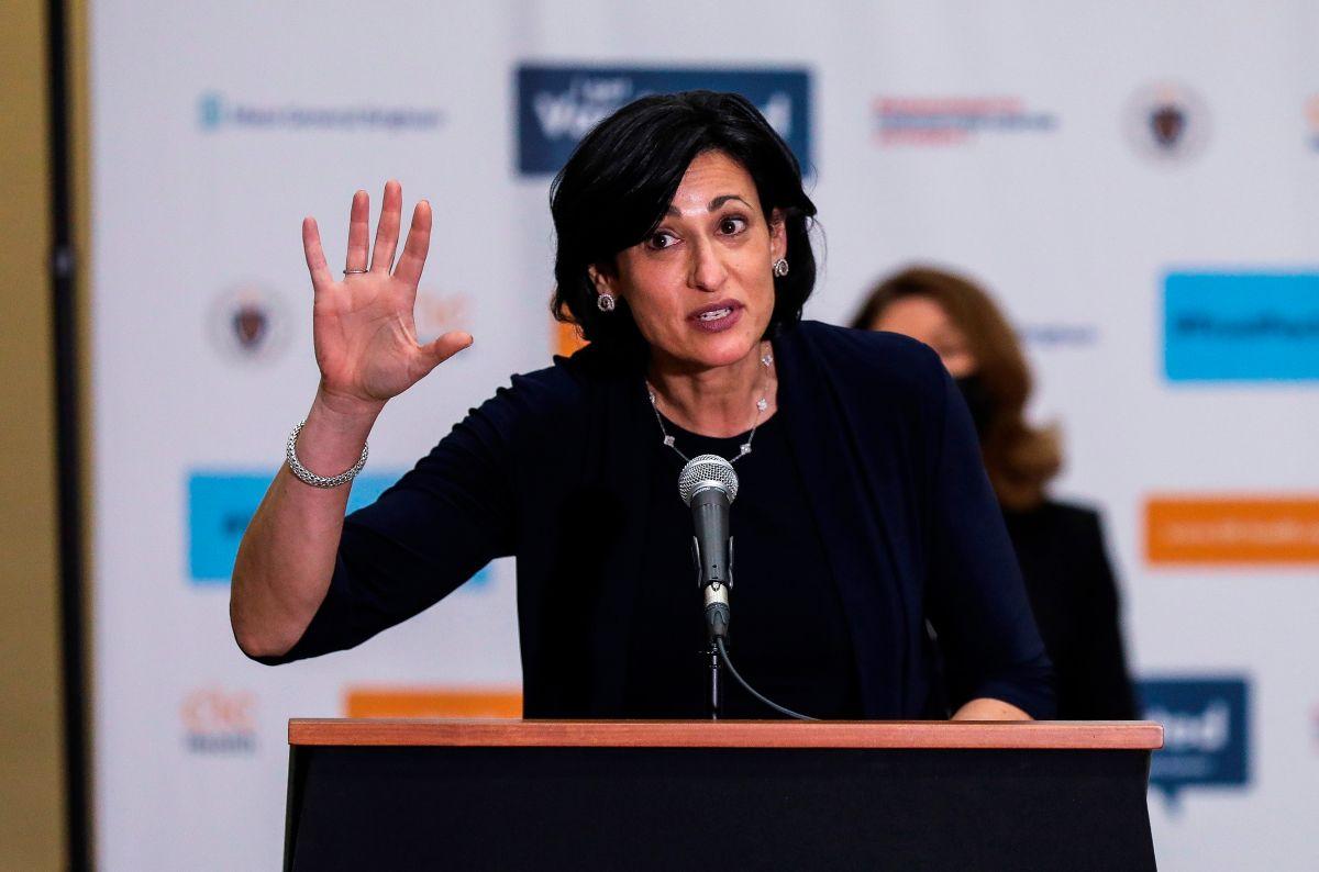 La directora de los CDC, Rochelle Walensky.