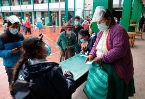 En fotos: así fueron las elecciones presidenciales en Perú en plena pandemia
