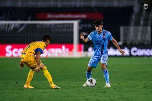 Andres Jasson, el joven hispano-argentino que juega en el NYCFC y a la vez estudia en la Universidad de Yale