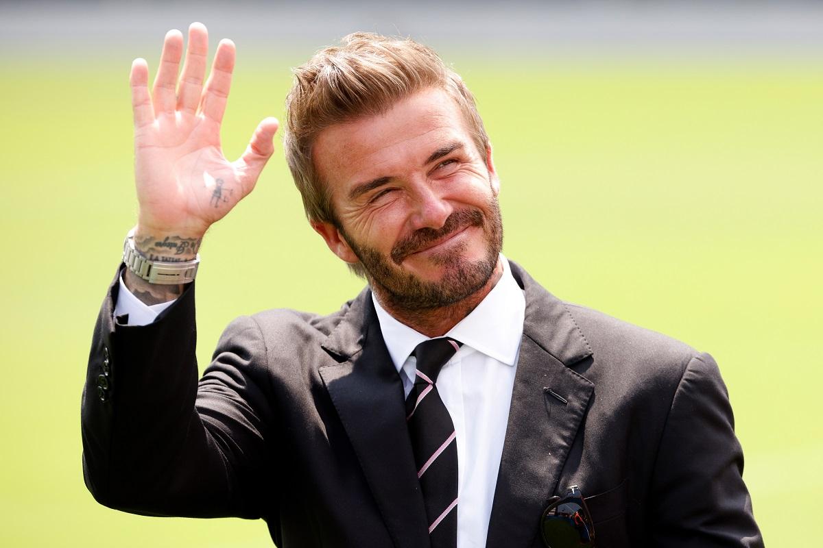 ¡Gran error! David Beckham podría haber mostrado su número de teléfono en esta foto