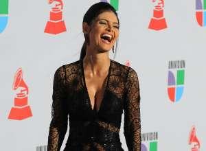 Chiquinquirá Delgado mostró sus atributos de arriba y de abajo con un vestido traslúcido