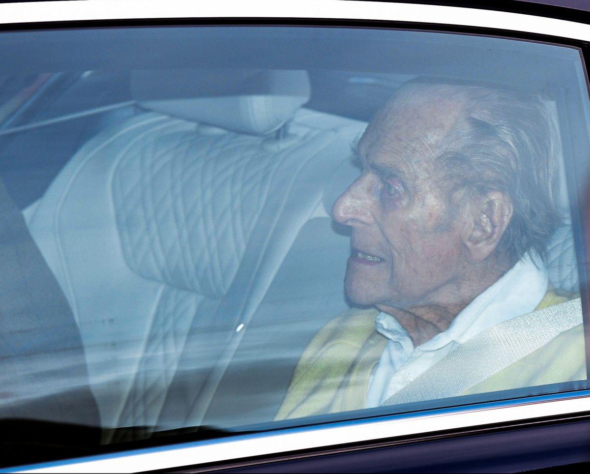 Así fueron los últimos minutos de vida del príncipe Felipe