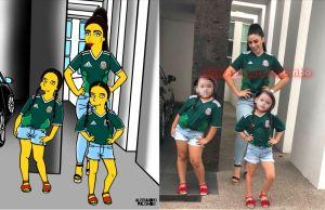 ¿Por qué Emma Coronel destaca en el arte pop de AleXsandro Palombo al estilo de Los Simpson?