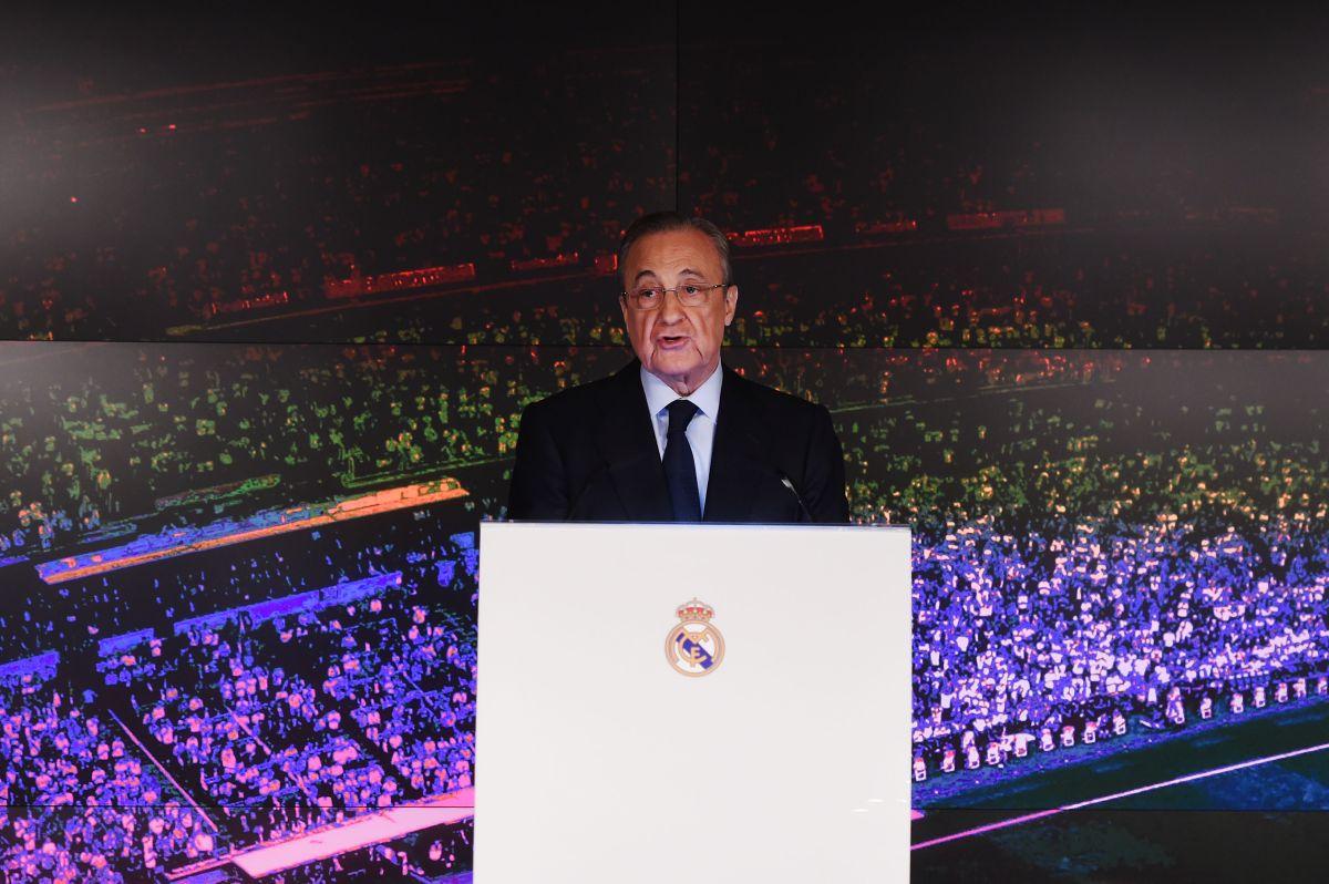 Florentino Pérez quiere que Hazard se quede en el Madrid