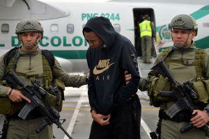 Ex futbolista colombiano estará 11 años en prisión por coordinar cargamentos de cocaína