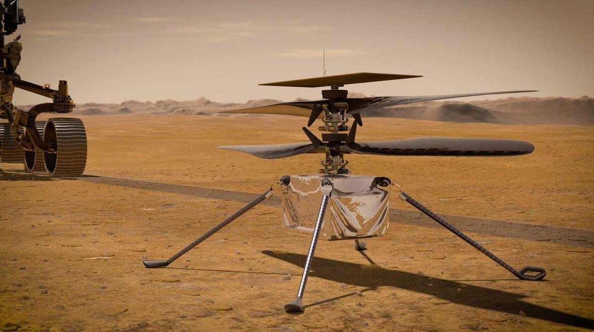 Misiones con drones: lo que viene después del primer vuelo del Ingenuity en Marte
