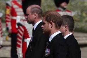 VIDEO: Así fue el funeral del príncipe Felipe; Harry y William se reencontraron