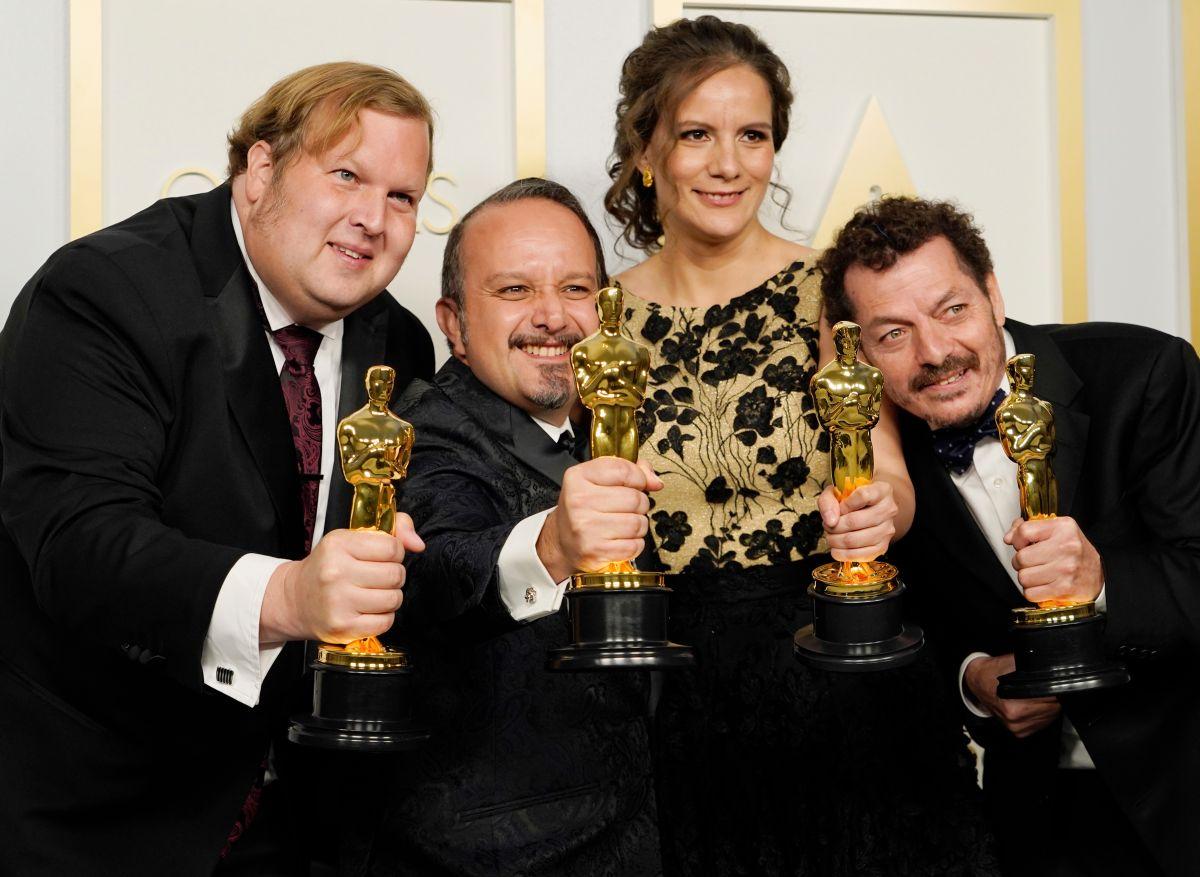 Mexicanos ganan Oscar a Mejor Sonido por 'Sound of Metal'