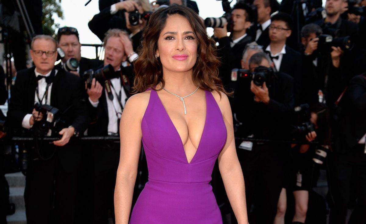 Salma Hayek es una de las actrices de origen mexicano, más influyentes en Hollywood.