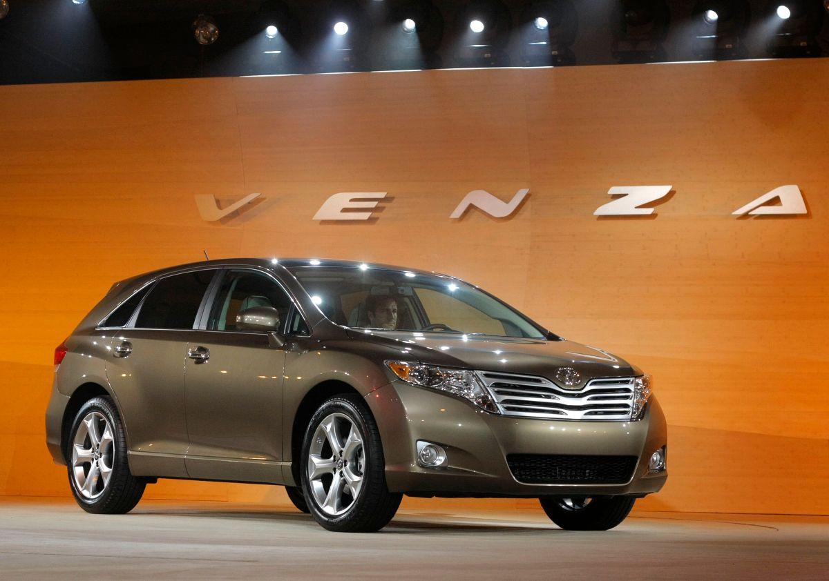 Toyota retira del mercado los SUV Venza para reparar el problema del cableado del airbag