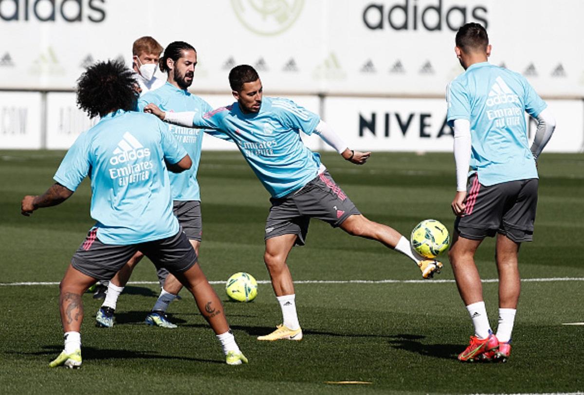 """Sigue el dilema belga en Madrid: """"Hazard no está para jugar"""""""