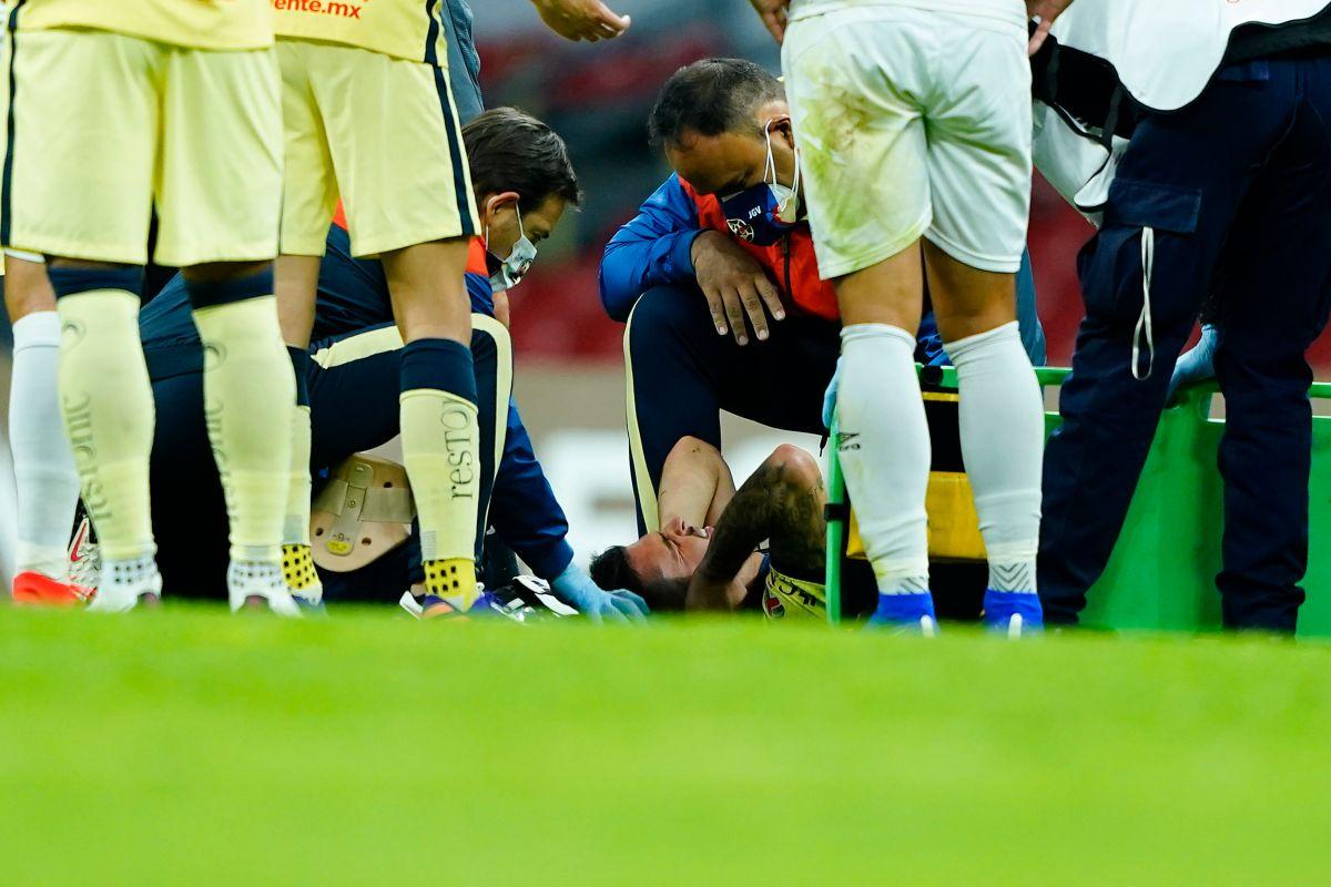 ¡Terrible! Chucho López recibió una brutal entrada que terminó en fractura [VIDEO]