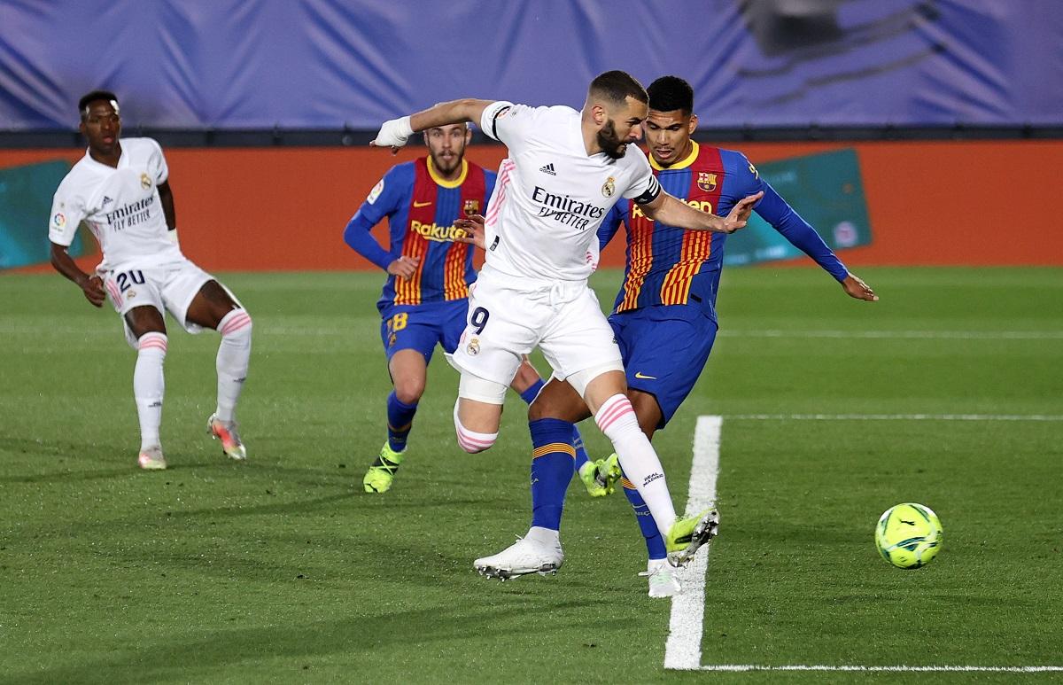 Video: ¡De tacón! Golazo de lujo para Karim Benzema en El Clásico español