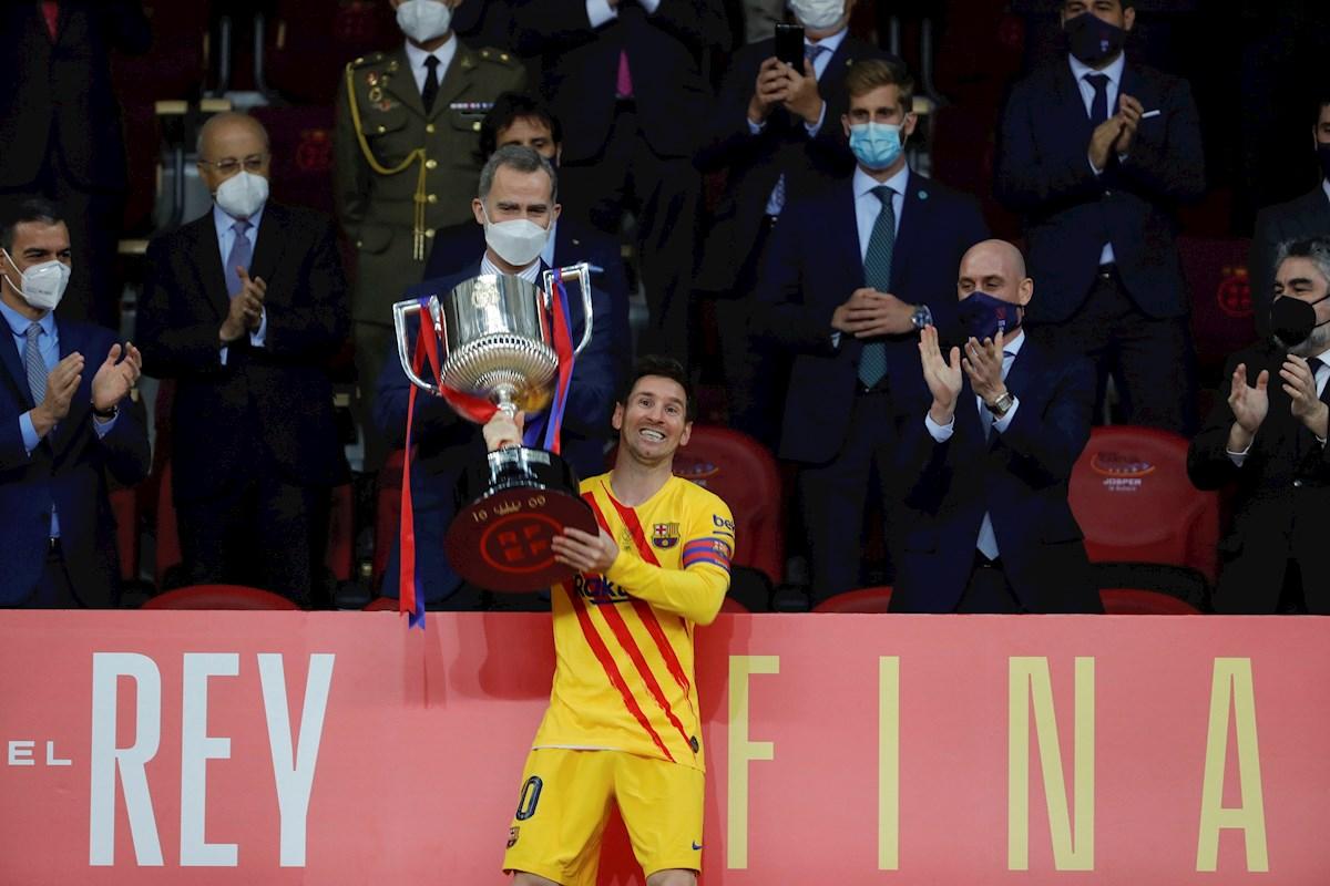 """Messi mostró su lado sentimental: """"Es muy especial ser el capitán de este club"""""""