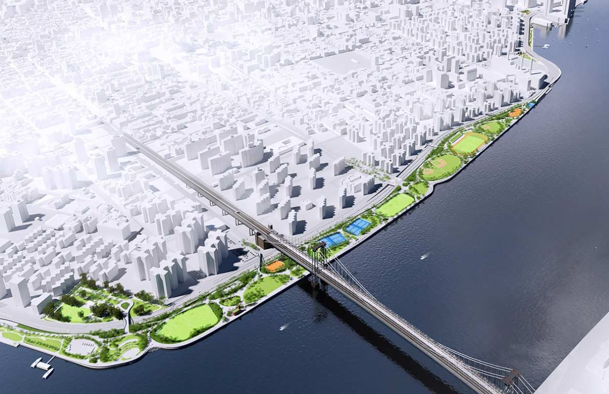 Inicia construcción de masivo proyecto de resiliencia costera en vecindarios del East Side en NYC