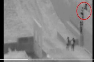 VIDEO: Traficante lanza a bebé inmigrante en muro fronterizo a 18 pies de altura