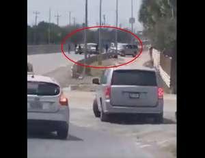 VIDEO: Ciudadanos estadounidenses y mexicanos son víctimas de narcos del Cártel del Golfo y les roban vehículos en la frontera